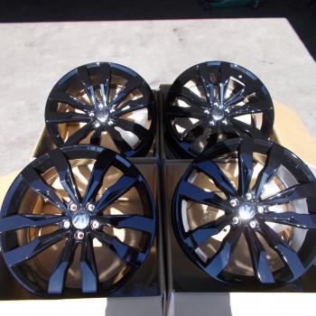 Nieuwe Zwarte 20 Inch Suzuka Vw T Roc Tiguan Audi Q3 Velgen